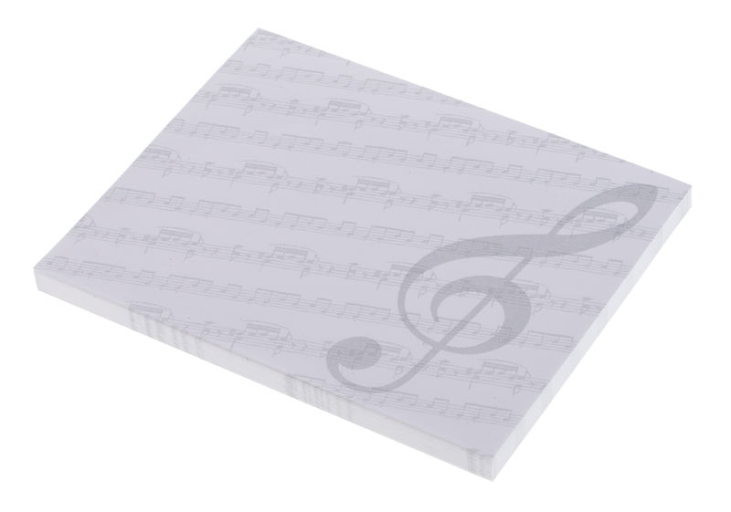 A-Gift-Republic Sticky Notepad Violin Clef