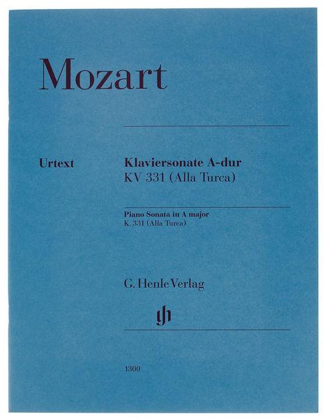 Henle Verlag Mozart Piano Sonata KV331