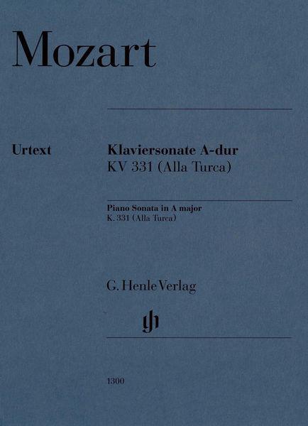Henle Verlag Mozart Sonate A-Dur KV 331