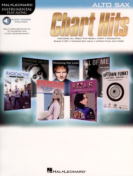 Hal Leonard Instrum.Play Along Charts ASax