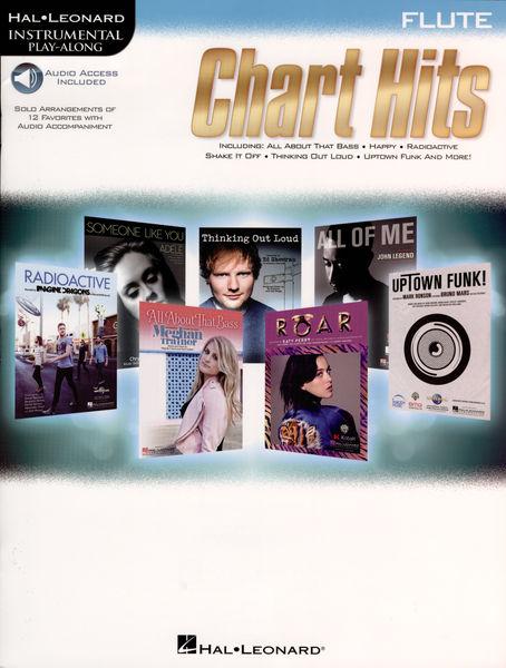Hal Leonard Instrum.Play Along Chart Flute