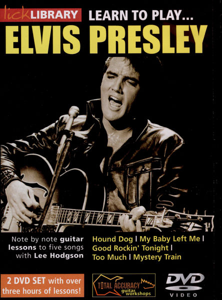 Music Sales Learn to play Elvis