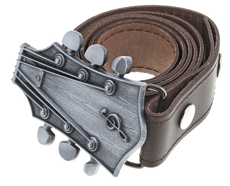 Rockys Belt Guitar Head Brown 105