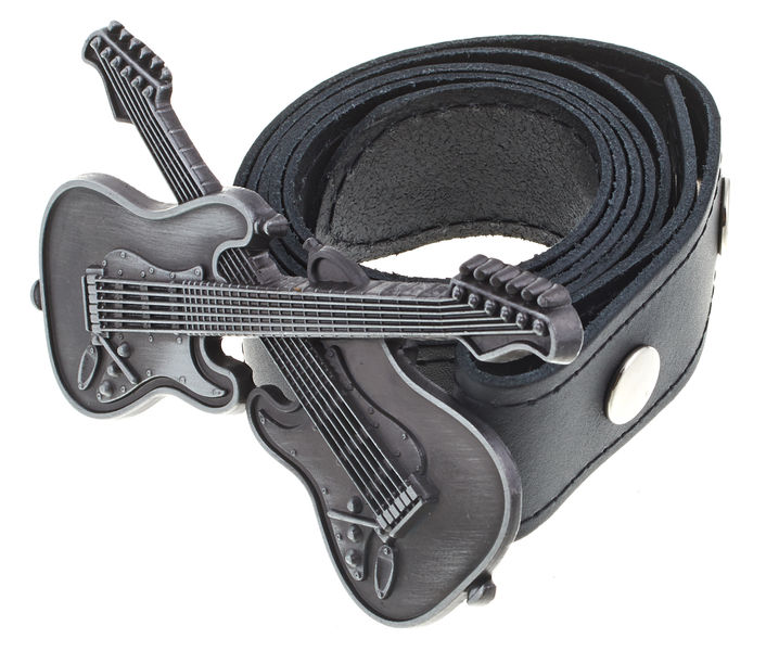 Rockys Belt 2 Guitars Black 75