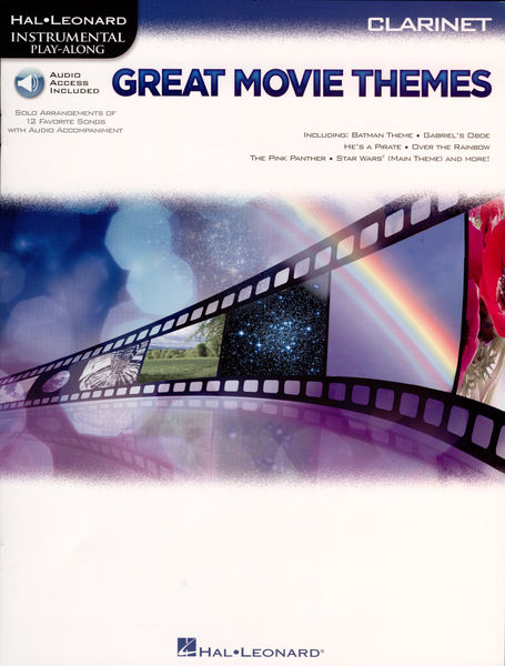 Hal Leonard Great Movie Themes Clarinet