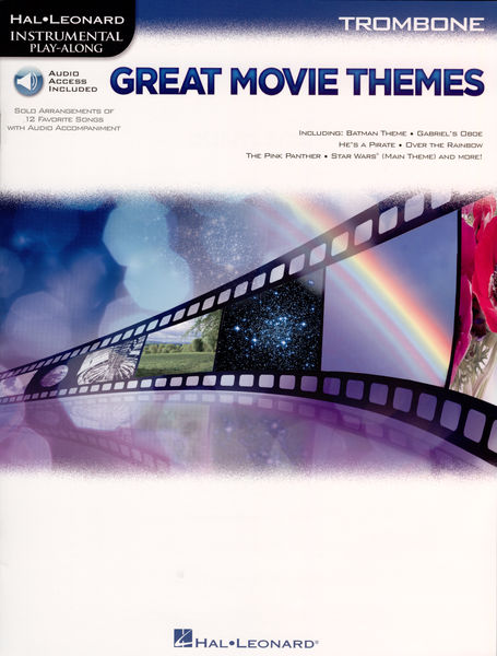 Hal Leonard Great Movie Themes Trombone