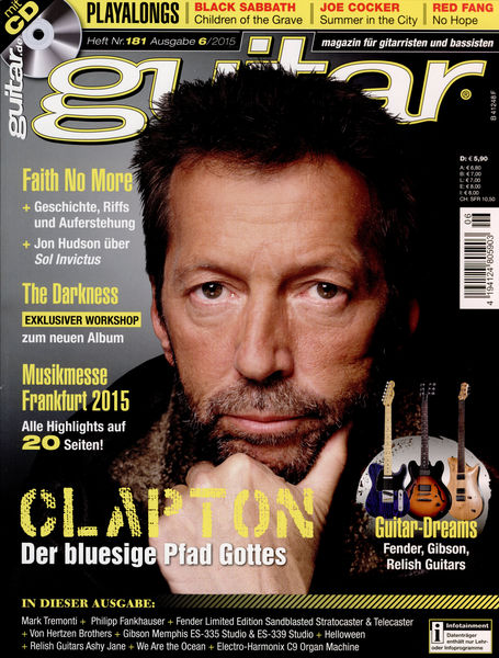 PPV Medien Guitar Ausgabe 06 2015
