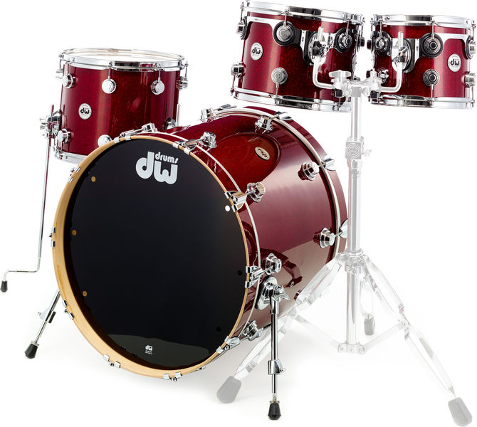 DW Finish Ply Maple Ruby Glass