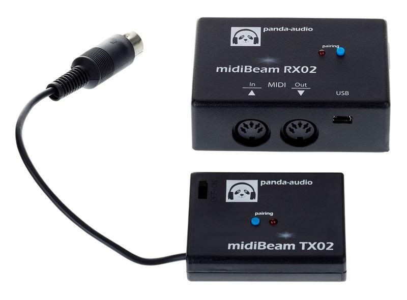 panda audio midiBeam