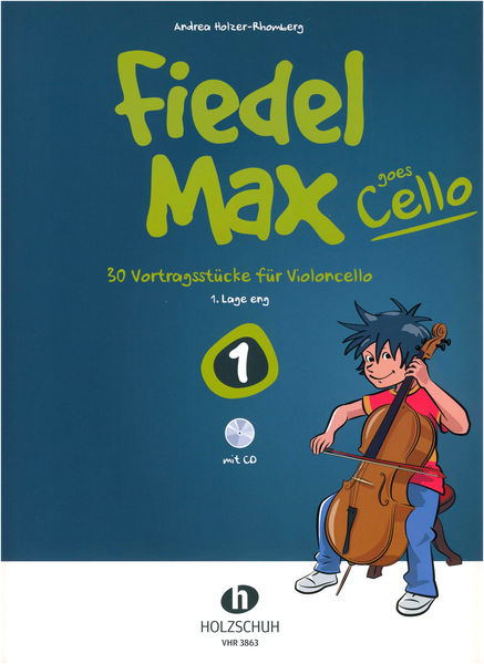 Holzschuh Verlag Fiedel-Max Goes Cello 1
