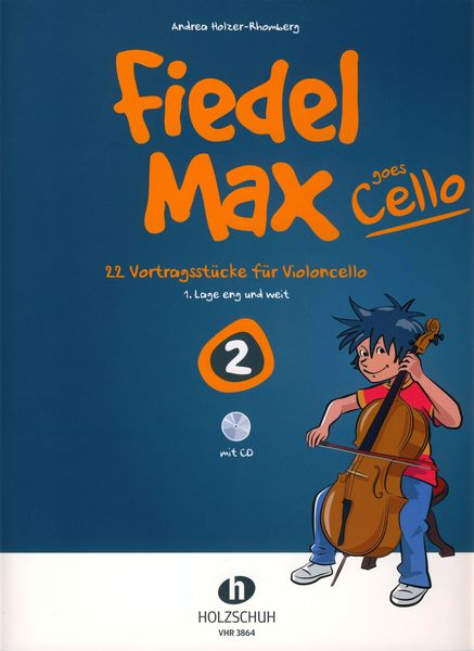 Holzschuh Verlag Fiedel-Max Goes Cello 2