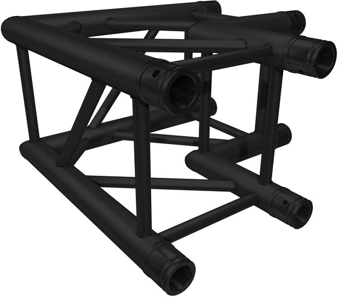 Global Truss F34C21P-B 90° Corner black