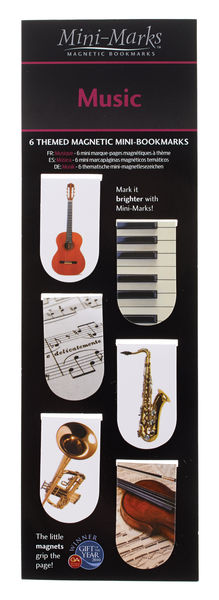 Anka Verlag Magnetic Bookmarks Music