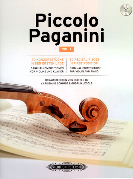 C.F. Peters Piccolo Paganini Vol.1