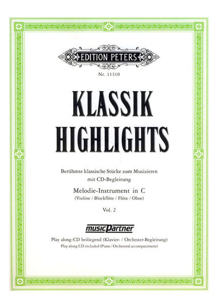 Edition Peters Klassik Highlights 2