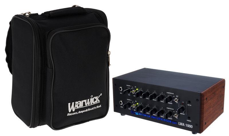Warwick LWA 1000 blk Bundle