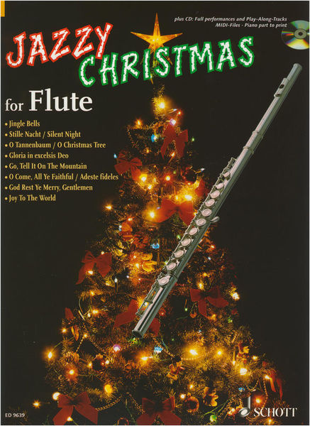Schott Jazzy Christmas for Flute