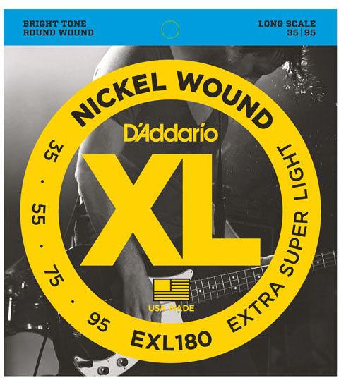 Daddario EXL180