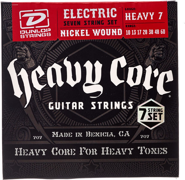 Dunlop Heavy Core Guitar 7