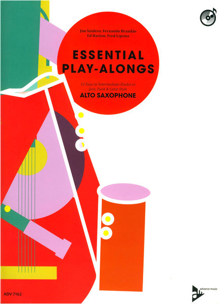 Advance Music Essential Play-Alongs A-Sax