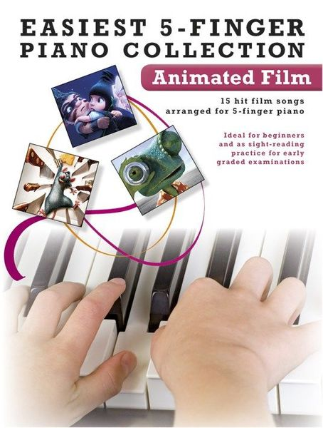 Wise Publications 5-Finger Piano Animated Film