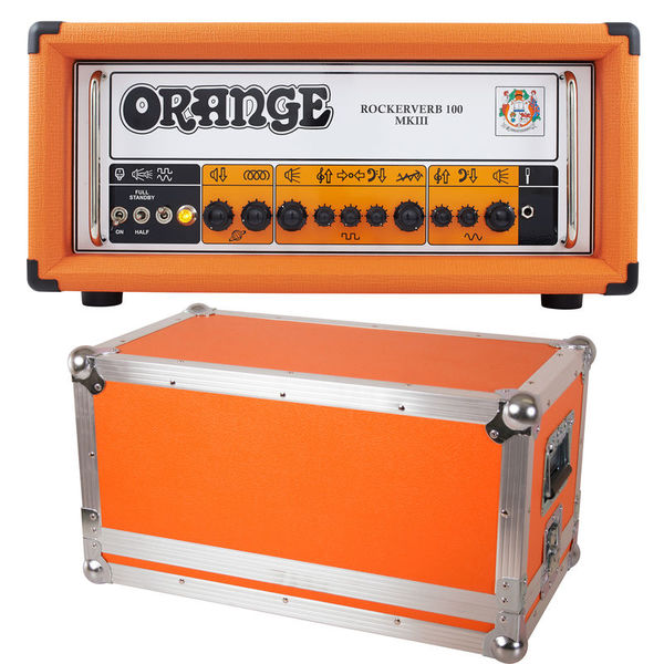 Orange Rockerverb 100H MKIII Bundle
