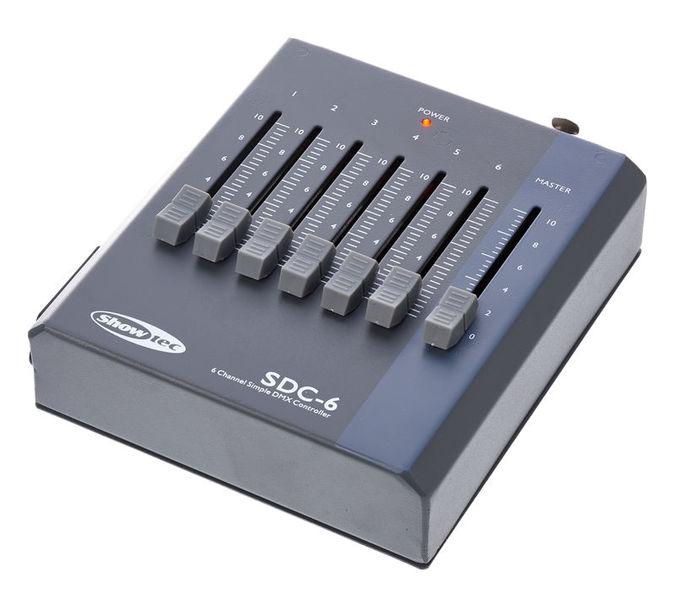 SDC-6 DMX controller Showtec