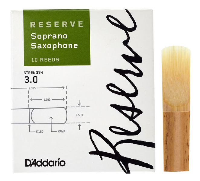 Daddario Woodwinds Reserve Soprano Saxophone 3,0