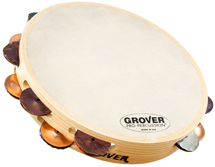 Grover Pro Percussion Tambourine T2/HTSPH-B