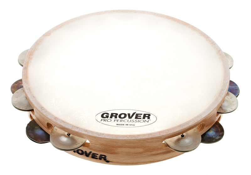 Grover Pro Percussion Tambourine T2/HS-B