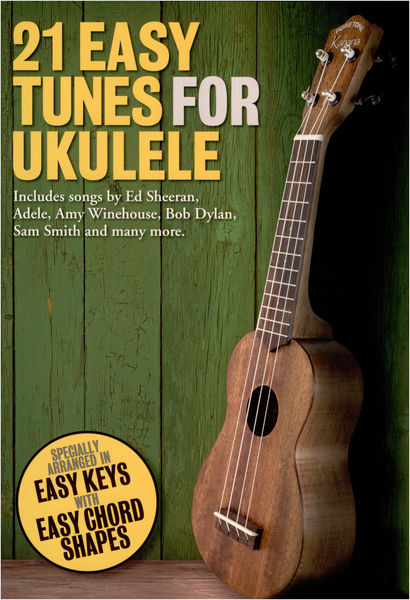 Wise Publications 21 Easy Tunes For Ukulele