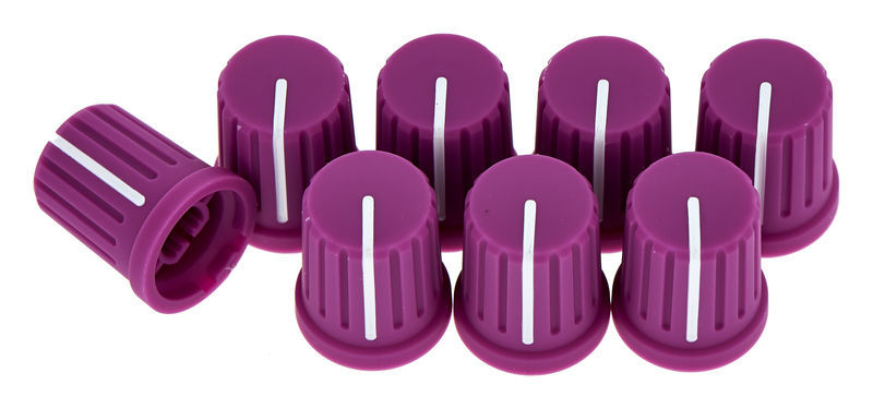 Reloop Knob Cap Set - Purple