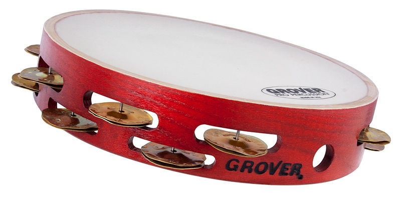 Grover Pro Percussion Tambourine T2/HTC-X