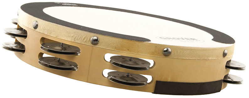 Grover Pro Percussion Tambourine SV-TAMB-GS
