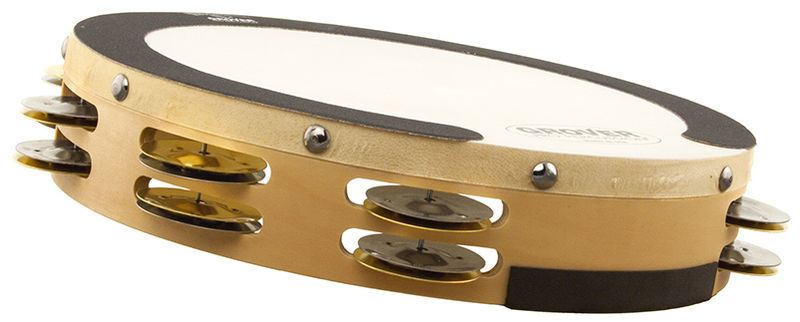 Grover Pro Percussion Tambourine SV-TAMB-SB