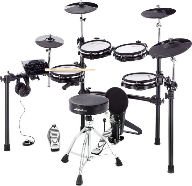 Millenium MPS-750 E-Drum Mesh Set Bundle