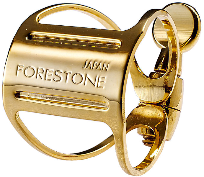 Forestone Ligature Alto Sax gold plated