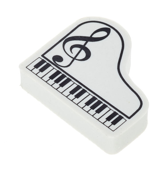 A-Gift-Republic Eraser Piano G-Clef White