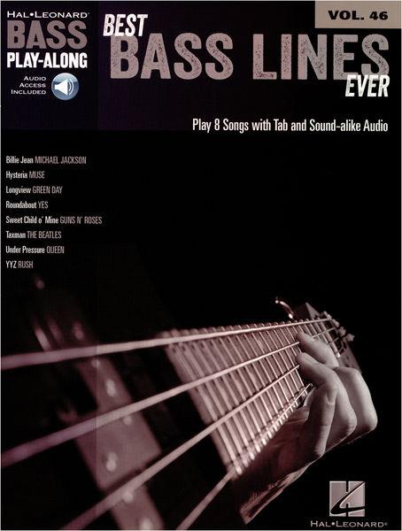 Hal Leonard Bass Play Along Best Bass