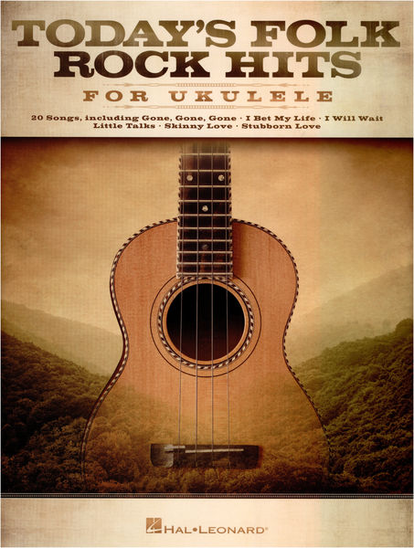 Hal Leonard Today´s Folk Rock Hits f.Ukul.