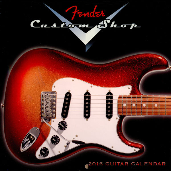 Fender Custom Shop Mini Calendar 2016