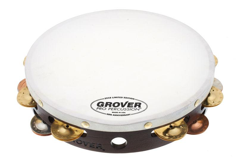 Grover Pro Percussion Tambourine 35th Anniversary