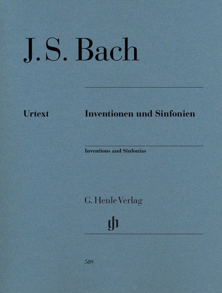 Henle Verlag Bach Inventions and Sinfonias