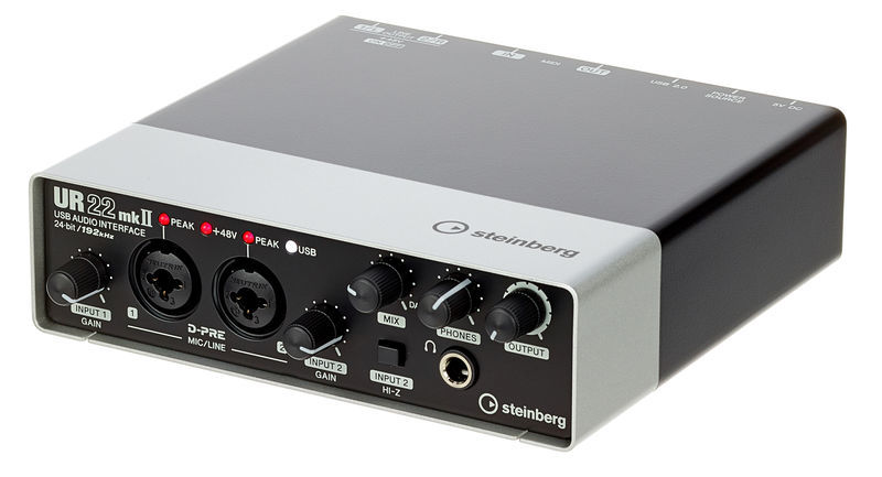 Steinberg UR22 - best audio interfaces