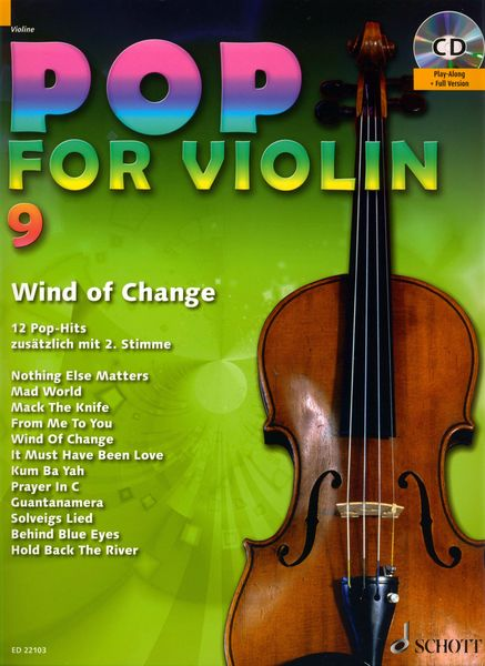 Schott Pop For Violin Vol.9