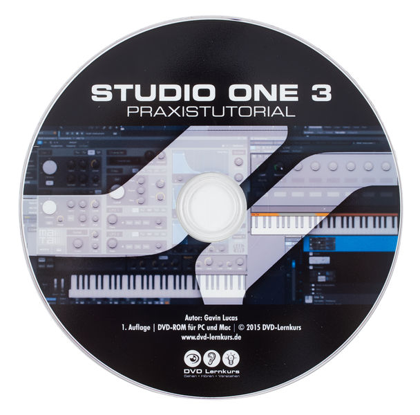 DVD Lernkurs Studio One 3 Praxistutorial