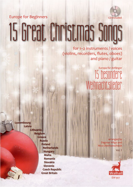 Edition Walhall 15 Great Christmas Songs 1