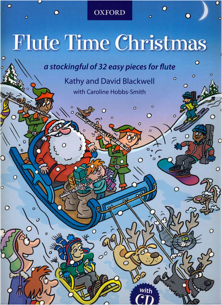 Oxford University Press Flute Time Christmas +CD