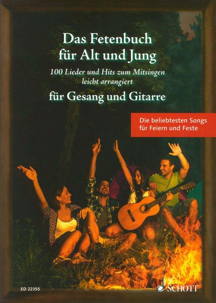 Fetenbuch Gesang/Gitarre Schott