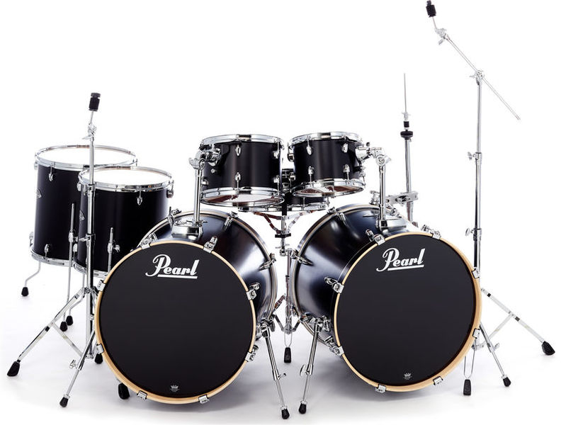Pearl Export Double Bass Kit - Black